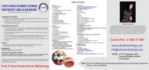 Damon Orthodontics Course in Europe